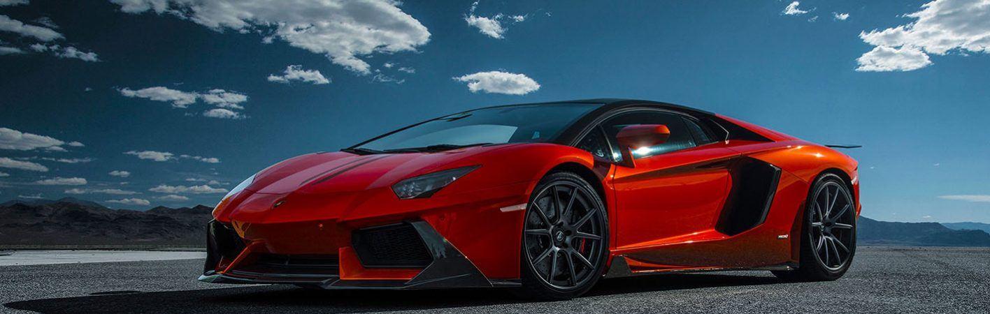 Lamborghini-Aventador-Red-Side-View